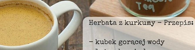 Tato radzi jak schudnąć – herbata zkurkumy
