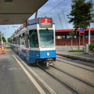 Zurich Zoo tramwaj